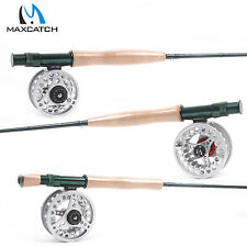 Fly Rod And Fly Reel Combo 3/4/5/6/7/8 Weights Fast Action Fly Fishing Rod