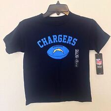 San Diego CHARGERS Authentic  NFL KIDS FOOTBALL T-SHIRT NAVY NWT