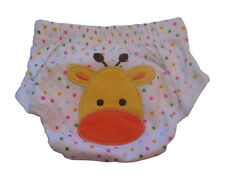 1pc Giraffe Design Baby Toddler Potty Toilet Training Pant New Reusable Washable