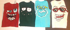 The Childrens Place Infant Toddler Boys T-Shirt Long Sleeve Faces Various Size