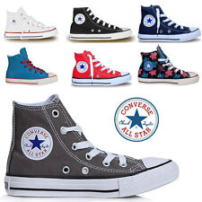 Boys Girls Converse All Star Hi Tops Chuck Taylors Kids Trainers Shoe Sizes UK