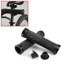 1 Pair Double Mountain MTB Bike Bicycle Cycling Lock On Handle Bar Grips USStock