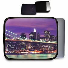 New York City At Night Neoprene Case for Any Tablet Netbook Macbook Air - Sleeve