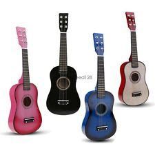 "23"" Kids Toy Blue/Pink/Black 6 String Children's Acoustic Guitar+ Pick + Strings"
