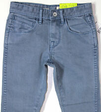 VOLCOM - Boy's Blue Stretch Skinny Leg Denim Jeans. Size 4,6,8. NWT. RRP $69.99