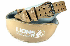 "WEIGHT LIFTING BELTS, BODYBUILDING GYM BELTS, 4"" WIDE GENUINE LEATHER BELTS"