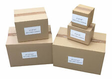 STRONG SINGLE WALL CARDBOARD BOXES VARIOUS SIZES AND QUANTITY CHEAP