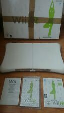 Boxed Nintendo Wii fit board with wii fit game and manuals