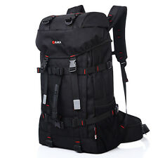 "55L Waterproof Outdoor Sports Backpack Travel Rucksack 15 17"" laptop Bag Daypack"