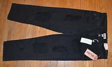 Mudd Distressed Destructed Crop Capris Juniors Jeans Can be cuffed MSRP $40.00