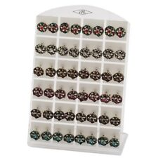 Vintage Style Round 10mm Studs With Sparkly Crystals