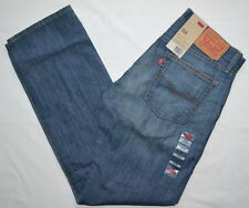 514 LEVIS SLIM FIT STRAIGHT LEG BLUE DENIM SITS BELOW BLUE COLLAR JEANS MEN