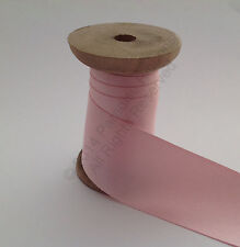PER METRE Berisfords Double Satin Ribbon - 400 Pink Azalea CHOOSE WIDTH