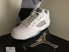 Air Jordan Retro 5 low GS 4 - 9.5 Boys kids white bred concord 12 master pink