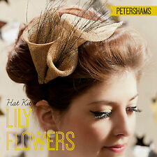 DIY Hat Kit - Make your own Lily Flowers Sinamay Fascinator- 25 colours!