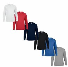 Gildan Performance long Sleeve Wicking Crew Neck Sports Mens Kids Present Tshirt