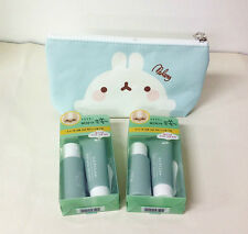 NATURE REPUBLIC EXO'S BAMBOO CHARCOAL NOSE & T-ZONE PACK 1+1 CHARACTER POUCH SET