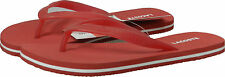 Women's Lacoste Emile SPW Flip Flops Sandals Red White 7-23SPW105217K