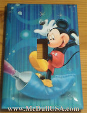 Disney Mickey Mouse Color Printing Paint Light Switch & Power Outlet Cover Plate