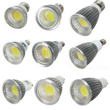 6W 9W 12W Bright MR16 GU10 E27 E14 Dimmable LED COB Spot down light lamp bulb