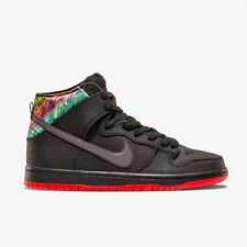 NIKE SB Zoom Dunk High Premium Black / Chilling Red New Shoes Skate 313171028