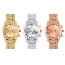 Fashion Quartz Movement Wrist Watch Analog Stainless Steel Watches