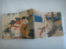 Shunga ancient Painting Erotic lust Exquisite Westerners art old book craftwork