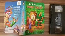 Disneys Robin Hood Black Diamond Vhs