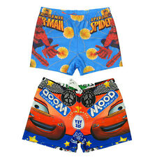 Boys Kids Swimsuit Spiderman Hero Trunks Swimming 1-8Y Swimwear Surfing Bathing