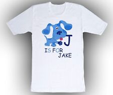 Blues Clues Personalized Custom ABC Birthday Shirt in 8 Different Colors