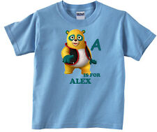 Personalized Custom Special Agent Oso ABC Blue Birthday T-Shirt Add Name