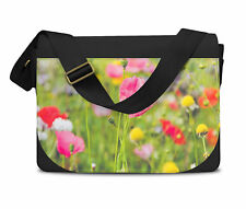 Wildflowers Messenger Bag - Laptop School Shoulder Bag
