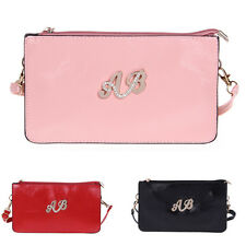 Lady Handbag Shoulder Crossbody Clutch Bag PU Leather Large Capacity