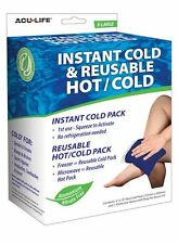 Instant Cold & Reusable Hot & Cold Pack
