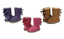 Ozwear UGG OB085 Kids Double Ribbon Boots