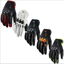 NEW Carbon  Motocross Motorcycle Cycling Riding Bike Racing Gloves M L XL Size