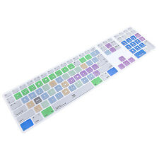 Final Cut Pro X Hot keys Keyboard Cover Skin For Numeric Keypad Wired F iMac G6