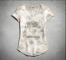 Harley-Davidson Ladies V-Neck T-Shirt 96013-15VW