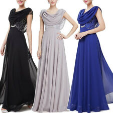 Long Elegant Chiffon Bridesmaid Evening Ball Prom Gown Formal Wedding PartyDress