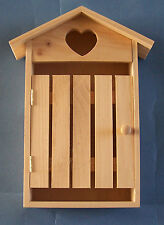 New Pine wooden Key Cupboard coastal beach house hut Style  to decorate yourself