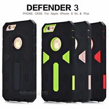 Hybrid Slim Tough Armor Heavy Defender Case Cover For Apple iPhone 6/6S/ Plus