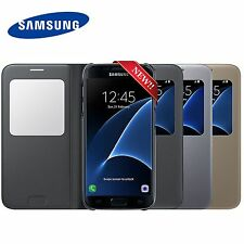 New Authentic Genuine Official SAMSUNG GALAXY S7 S View Case Cover EF-CG930
