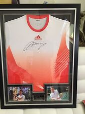ANDY MURRAY Signed Framed SHIRT