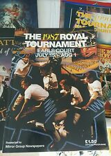 1987 ROYAL TOURNAMENT PROGRAMME  - COLLECTABLE BRITISH MILITARY HISTORY