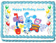BLUES CLUES Image Edible  Cake topper Frosting sheet