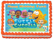 BUBBLE GUPPIES Image Edible Cake topper frosting sheet