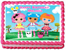 LALALOOPSY Image Edible Cake topper party decoration