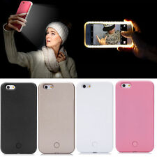 Luxury LED Light Up Selfie Luminous Phone Back Cover Case For iPhone 6 6S Plus