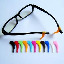 2 x Silicone Temple Tips For Glasses Spectacles Ear Hooks Grip Holding Anti Slip