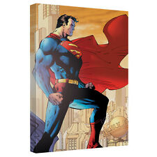 SUPERMAN CITY WATCH CANVAS WALL ART